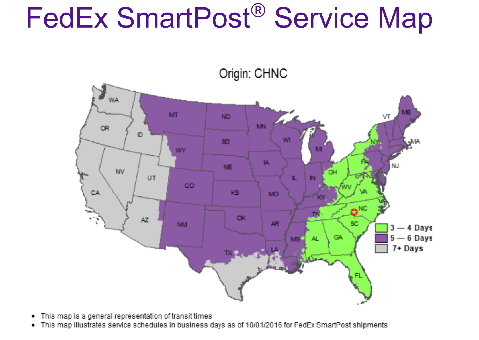 FedEx Service Maps - Delivery Estimates – Ripstop by the Roll